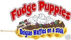 Fudge Puppies on a stick